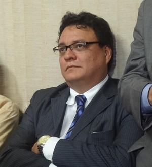 André Cavalcante, advogado do Santa Cruz de Cuiarana (Foto: GLOBOESPORTE.COM)