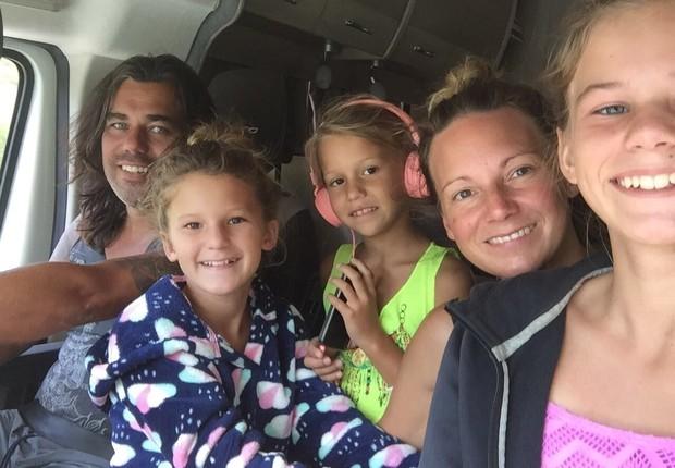 Didi Taihuttu investiu seu dinheiro e bitcoins para morar com a família na Holanda (Foto: Reprodução/Facebook)