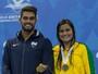 """Nadadora paralímpica aproveita """"fator casa"""" e busca pódio no Rio de Janeiro"""