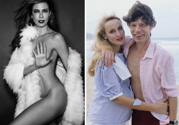 Luciana Gimenez, Jerry Hall e Mick Jagger (Foto: Instagram/Getty Images)