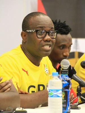 Presidente da GFA, Kwesi Nyantakyi, negou acusações do periódico inglês (Foto: Ailton Cruz/ Gazeta de Alagoas)