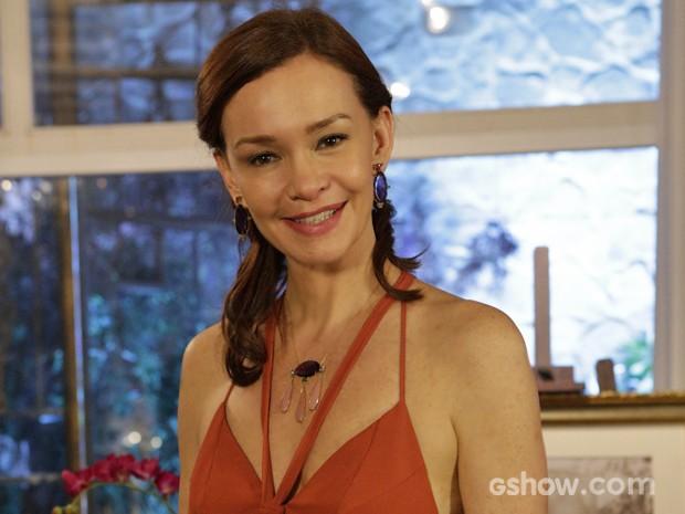 Julia Lemmertz fala sobre as mulheres inspiradoras de sua vida (Foto: Fabio Rocha/ TV Globo)