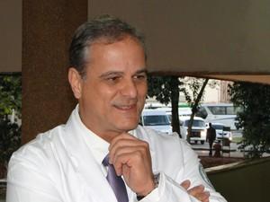 O médico Flávio Mignone Gripp fará campanha no Hospital das Clínicas (Foto: Divulgação/Cristina Casarini)