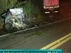 Três pessoas morrem e uma fica ferida em acidente na BR-262, ES