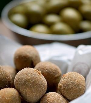 Azeitonas fritas (Foto:  )