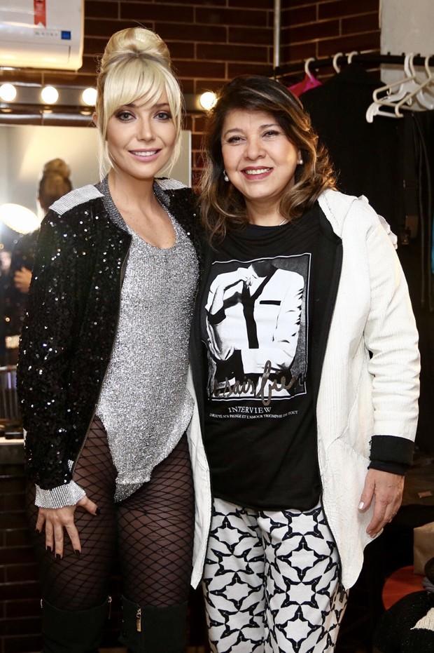 Luiza Possi e Roberta Miranda (Foto: Manuela Scarpa/Brazil News)