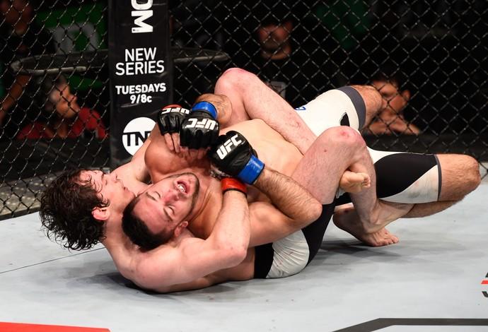 Olivier Aubin-Mercier Thibault Gouti UFC Ottawa (Foto: Getty Images)