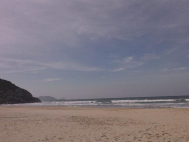Máxima deve chegar a 23ºC na Grande Florianópolis e no Sul (Foto: Joana Caldas/G1)