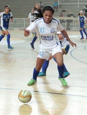 Seletiva de futsal feminino, em Praia Grande (Foto: Divulgação / Prefeitura Municipal de Praia Grande)