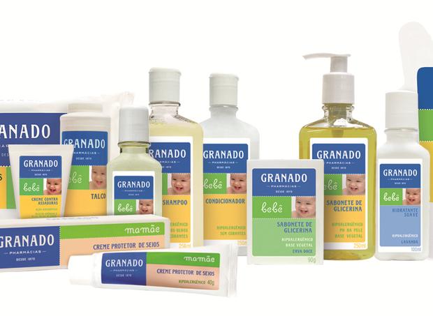 Linha Bebê Granado: higiene 100% natural  (Foto: Divulgação)