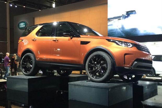 Novo Land Rover Discovery é apresentado no Salão de Paris (Foto: Divulgação)