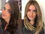 Monique Alfradique volta a ser loira: 'Dá mais leveza ao meu rosto'