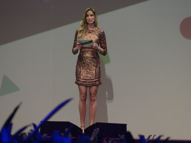 Mariana Weickert apresenta evento de moda em Belo Horizonte, Mina Gerais (Foto: Francisco Cepeda/ Ag. News)