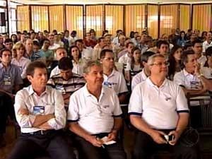 Participantes durante evento (Foto: Reprodução / TV Integração)