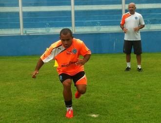 Edinho, meia, Paysandu, teste físico (Foto: Jorge Luiz/Ascom Paysandu)