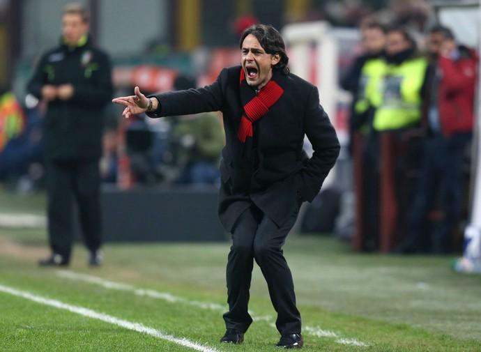 Filippo Inzaghi técnico Milan (Foto: EFE)