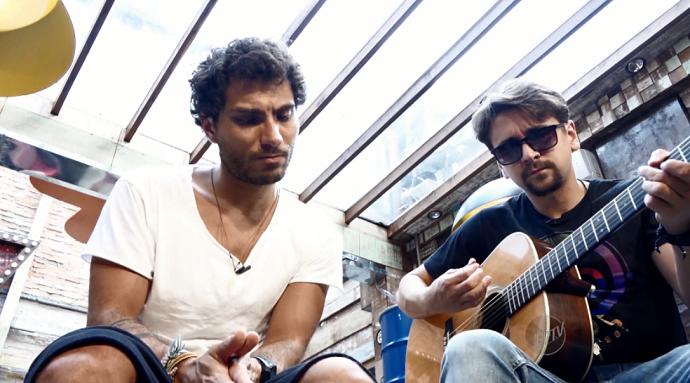 Bruninho & Davi são a dupla da vez no Mais Caminhos! (Foto: reprodução EPTV)