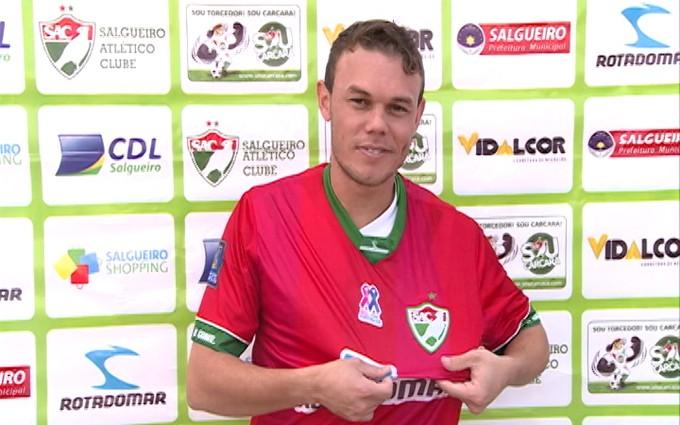Fagner na apresentação do Salgueiro  (Foto: Ednardo Blast/TV Grande Rio)
