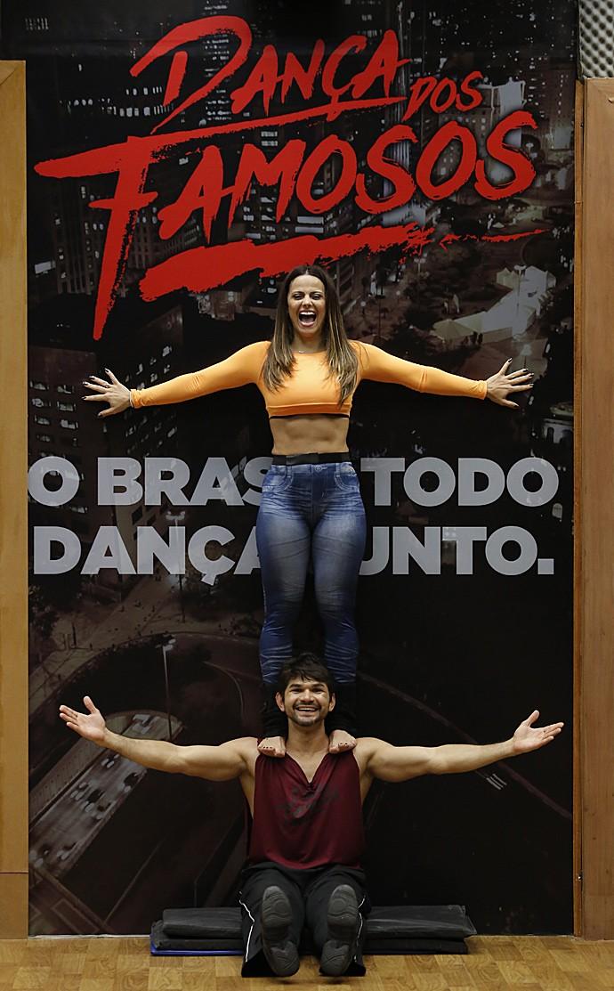 Viviane Araujo no funk  (Foto: Fábio Rocha/ Gshow)