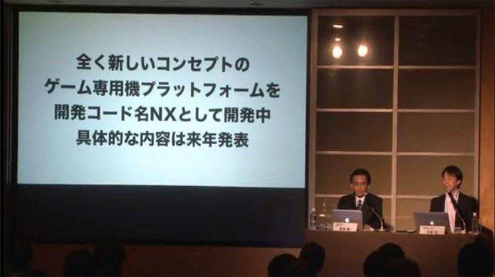 Em março, Satoru Iwata anunciou o futuro console Nintendo NX, sem maiores detalhes (Foto: Reprodução/Siliconera)