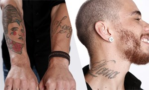 Joey Mattos tatuagem (Foto: The Voice Brasil/TV Globo)