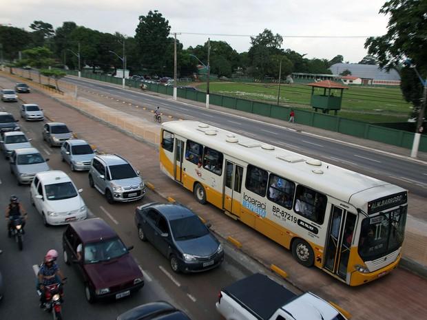 Faixa Expressa BRT Belém (Foto: DIvulgação/Comus)