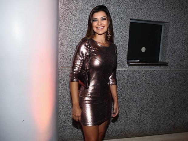 Amanda Françozo em show em São Paulo (Foto: Manuela Scarpa/ Foto Rio News)