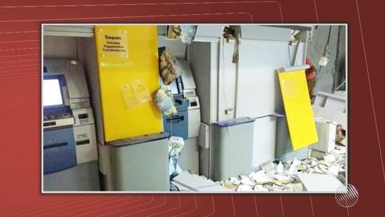 Bandidos explodem agência bancária no sudoeste do estado