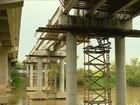 Ponte sobre o Rio Tubarão deve ficar pronta até fim do semestre, diz Dnit