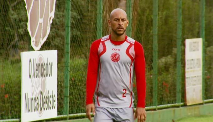 Atacante Rodriguinho, de 33 anos, reforça o Tricordiano para o Campeonato Mineiro (Foto: Reprodução EPTV)