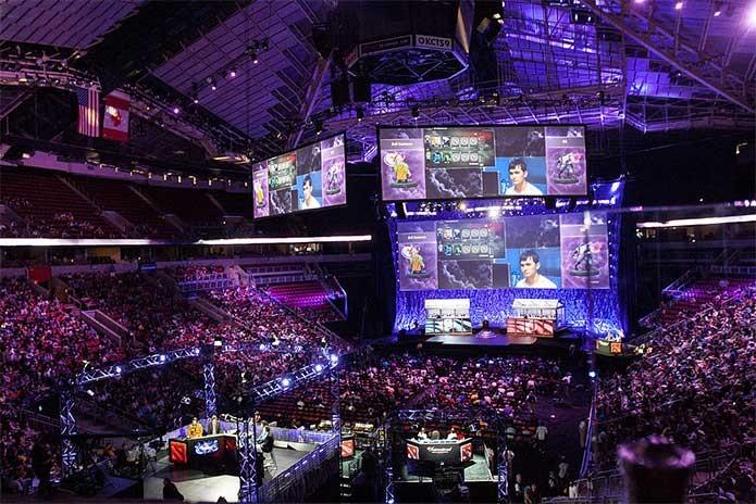 Torneios de eSport são populares no mundo todo (Foto: Divulgação/Valve)