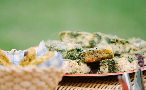 Bela Cozinha - Piquenique - Torta salgada de tofu e bertalha (Foto: Crdito Jardim Mvel)