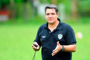 Tuca Guimarães, técnico Portuguesa Lusa (Foto: Divulgação)