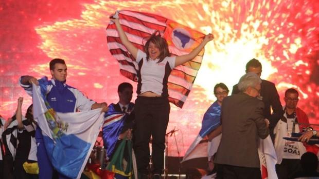 Fotos: Emoção na etapa final da Olimpíada do Conhecimento. (Divulgação)