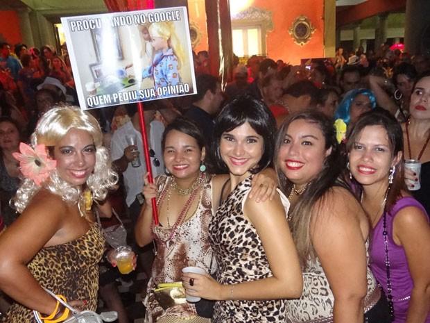 Baile do I love cafusú - Recife (Foto: Luna Markman / G1)
