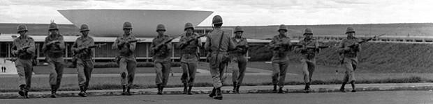 Os 33 dias do golpe militar que levaram  o Brasil a viver 21 anos de ditadura (Arquivo / Agência O Globo)
