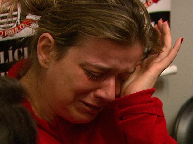 'Não sei o que aconteceu', diz mãe do menino Joaquim Ponte Marques, desaparecido em Ribeirão Preto (Foto: Maurício Glauco/EPTV)