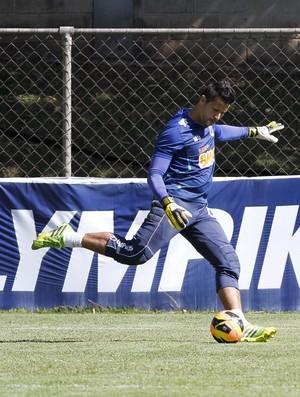 Fábio; Cruzeiro; treino; Toca da Raposa II (Foto: Washington Alves / Vipcomm)