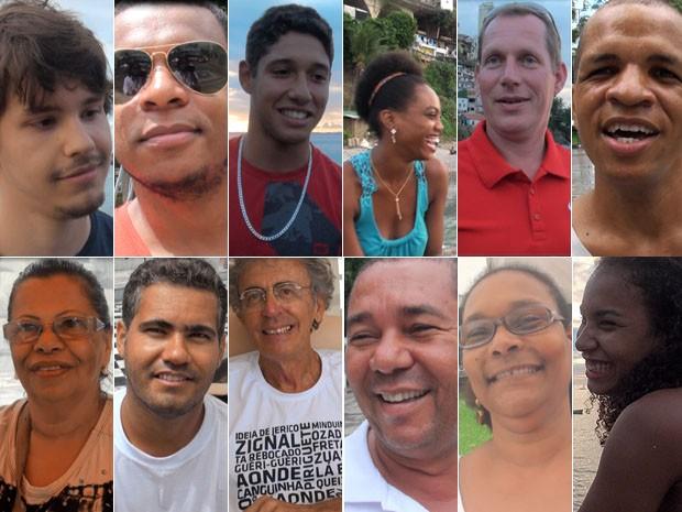 Baianos que falam oxe, Bahia (Foto: Arte/ G1)