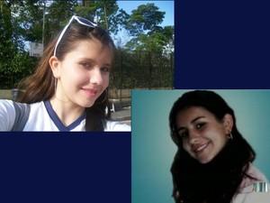 Irmãs desaparecidas (Foto: Reprodução/TV Vanguarda)