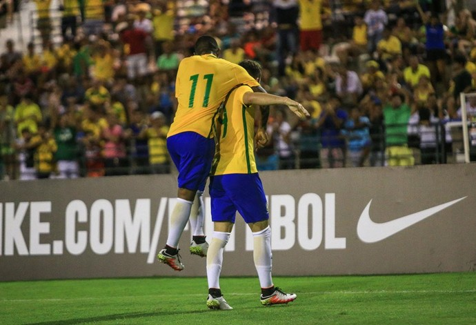 Andreas Pereira Brasil África do Sul (Foto: Ailton Cruz/Gazeta de Alagoas)