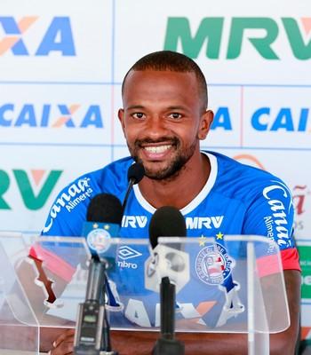 Diego Rosa; Bahia (Foto: Felipe Oliveira/EC Bahia/Divulgação)