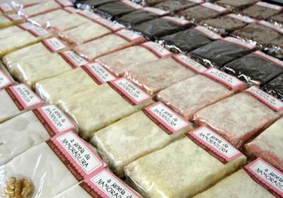 A palha italiana é o carro-chefe da doceria e vem em diversos sabores  (Foto: Divulgação)