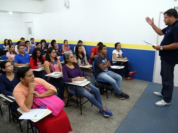 Cursinho pré-vestibular prepara gratuitamente estudantes de Belém para as provas do Enem. (Foto: oão Gomes - NID Comus)