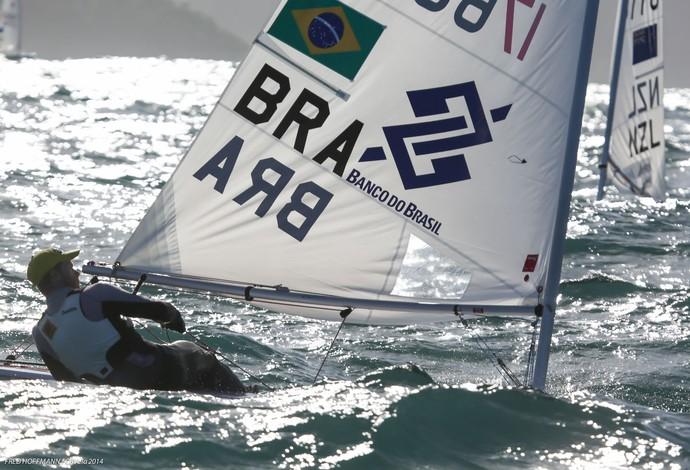 Robert Scheidt evento-teste Rio vela (Foto: Fred Hoffmann/Divulgação)
