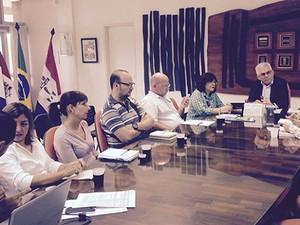 Reunião aconteceu na manhã desta quinta-feira (13) (Foto: Ascom/Ufal)