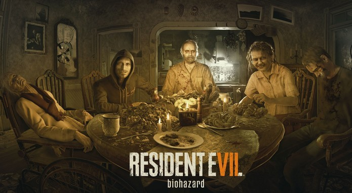 Resident Evil 7 Biohazard: a família Baker (Foto: Divulgação/Capcom)