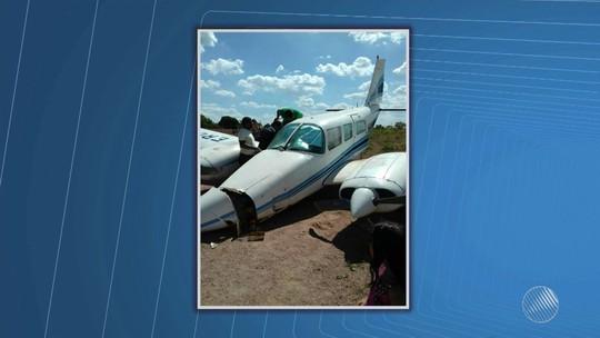 Aeronave com deputado e prefeito eleito derrapa durante pouso na BA