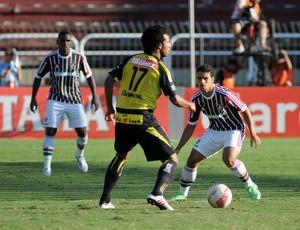 Digão e Jean Fluminense x Volta Redonda (Foto: Rossana Fraga / Photocâmera)