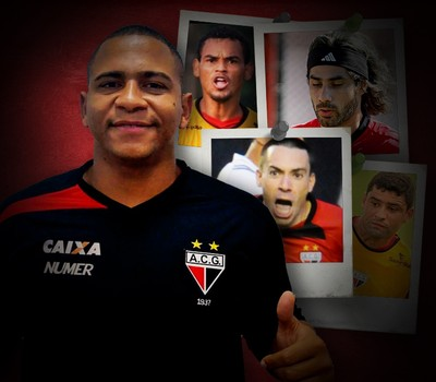 CARROSSEL - Walter Atlético-GO contratação (Foto: Editoria de Arte)